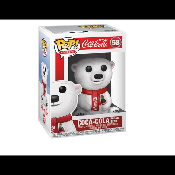 Coca Cola Holiday Bear Funko Pop